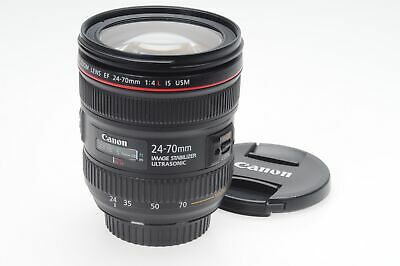 Canon EF 24-70mm f4 L IS USM Macro Lens 24-70/4                             #814