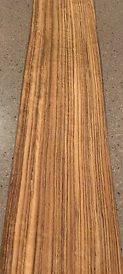 "Exotic Amazakoue Wood Veneer: 5 Sheets (35"" X 8"") 9 Sq Ft"