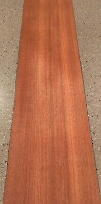 "Mahogany Wood Veneer: 5 Sheets (38"" X 8.5"") 11 Sq Ft"