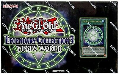 Yugioh Legendary Collection 3: Yugi's World Box Trading Card with The Seal of Or