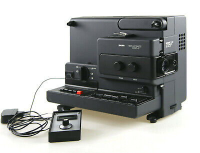 Super8 Film Projector Bauer T502 for Digitization Digitising