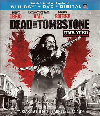Dead In Tombstone (Blu-ray Disc/DVD, 2013, 2-Disc Set, Unrated)