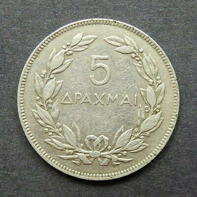 GREECE - 5 Drachmai coin  1930