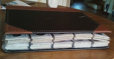 Vintage Lot - Binder Filled With Foreign Coins  --  220 Coins Unsearched