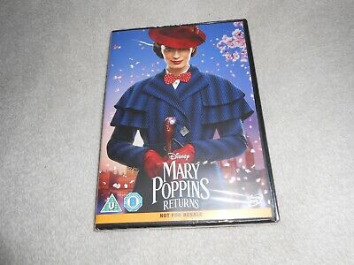 Mary Poppins Returns DVD  2019  BRAND NEW AND SEALED