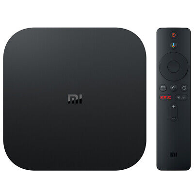 Original Xiaomi Mi Box S TV Box 4K HDR Android 8.1 2GB+ 8GB HD WiFi EU Black