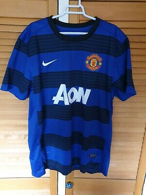 premium selection cedde d4723 MANCHESTER UNITED AWAY shirt 3rd kit Season 11/12 No.23 CLEVERLEY