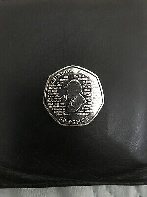 New Sherlock Holmes 2019 50p Fifty Pence Coin Rare Collectible UNC