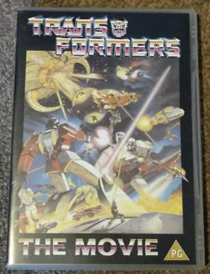 Transformers The Movie - DVD, Region 2, Mint, Official