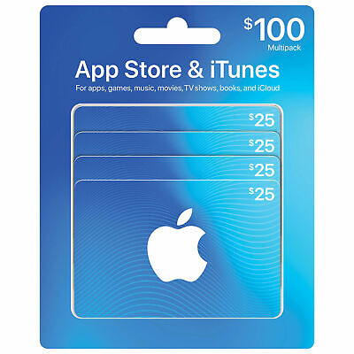 Canadian Apple Itunes Canada Itunes Gift Card Music Movie App Tv $100 Set!