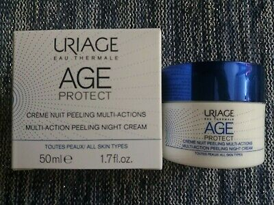 URIAGE Age Protect - Crème Nuit Peeling multi-actions – Pot 50ml - Neuf