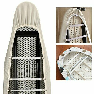 Ironing Board Cover Clips 4 X Elastic Fasteners Brace Straps Bed Sheets Grips
