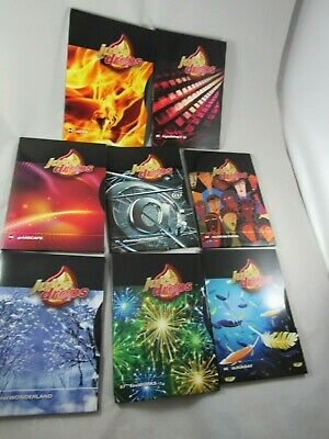 Juse Drops Themes 64 - 71 chromed gridscape multicultural winter wonderland fire