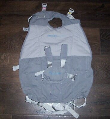 Infant Airplane Hammock Seat Flyebaby Travel Chair High Baby Comfort System Gray