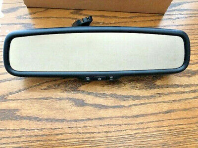 NEW 2000-2019 Ford Auto Dim Rear View Mirror with Compass Gentex OEM