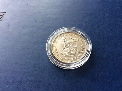 A High Quality 1910 Edward VII Sterling Silver Shilling