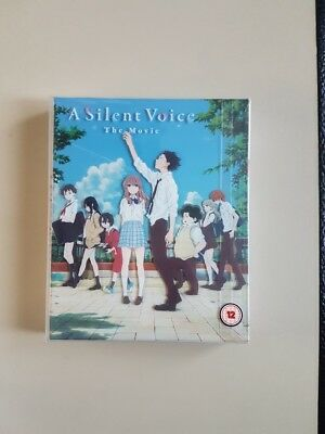 A Silent Voice Collector's Edition Blu-ray/DVD Anime NEU! rar!