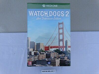 Watch Dogs 2 San Francisco Edition Limited Collector's Xbox One Nuovo Sigillato
