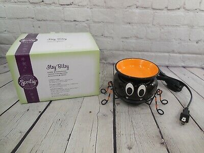 Scentsy Plug In Wax Warmer Itsy Bitsy Spider Halloween New In Box