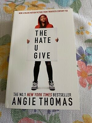 The Hate U You Give New York Times Bestseller Angie Thomas Book Paperback
