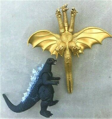 GODZILLA figure set GHIDORAH ghidra ghidora monster vs mothra megalon rodan KING