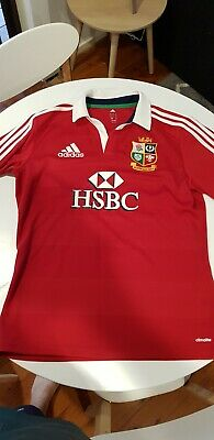 Adidas climacool British Lions Rugby Union Jersey Mens Size L