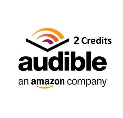 Audible credits 2 credits to your existing account US audible.com