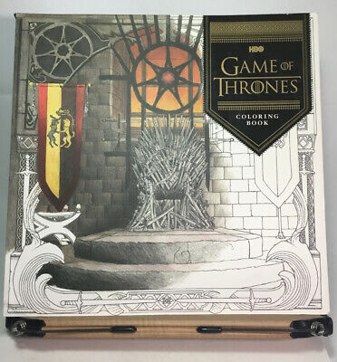 Game of Thrones (HBO)Chronicle Coloring Book By George Martin Collectible