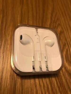 Original And Genuine Apple Earpods White Earphones - 3.5mm plug