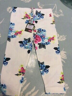 Joules Girls Leggings BNWT 9-12 Months