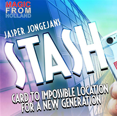 STASH (With Online Instructions) by Jasper Jongejans and MagicfromHolland - Tric