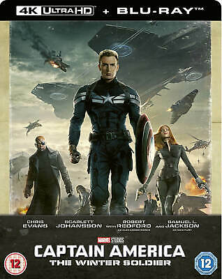 Captain America:The Winter Soldier(Bluray 4K)Limited Edition Steelbook