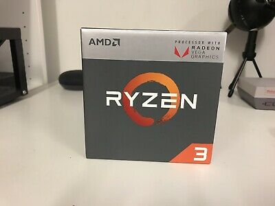 AMD YD2200C5FBBOX Ryzen 3 2200G 3.5 GHz Quad Core Processor