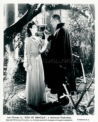 LON CHANEY Jr. LOUISE ALLBRITTON SON OF DRACULA 1943 VINTAGE PHOTO #3  R1970