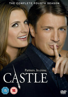 Castle: The Complete Fourth Season DVD (2013) Nathan Fillion