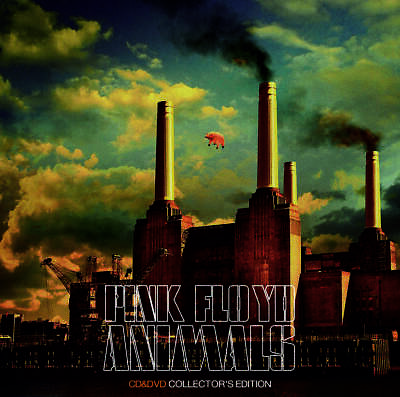 PINK FLOYD ANIMALS 2018 COLLECTOR'S EDITION 1976 Recording Session DVD ALBUM
