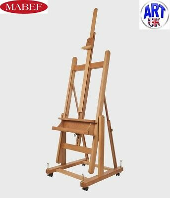 Mabef Professional Artist Beech Wood Reclining Convertible Studio Easel - M/18