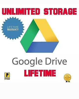 Google Drive Unlimited Storage Account Lifetime Team Drive G Suite