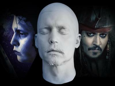 Johnny Depp 1:1 Life Mask - Pirates Of The Caribbean - Grindelwald