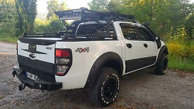 Ford Ranger  With Rear Steel Bumper Winch Tow Bars