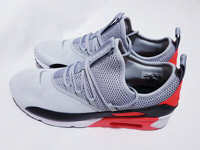 1a2826c84d NIKE AIR MAX 90 Ez White Dust Solar Red Black Womens Wmns Sz 6-10 ...