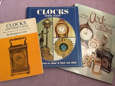 Clocks Horology Horological Collection Of Books