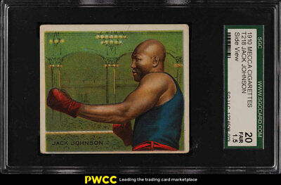 1910 T218 Champions Prize Fighter Jack Johnson SIDE FACE SGC 1.5 FR (PWCC)