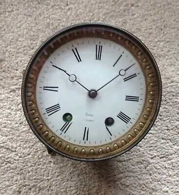 A Seven Inch White Dial French Movement