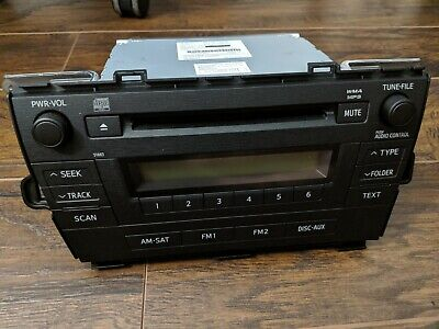 REPAIR SERVICE ONLY - TOYOTA Prius AM FM Radio Stereo Single CD