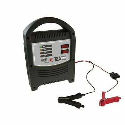 New Maypole Battery Charger 12A - 12V/24V - Led Automatic - Mp7112 Best Quality