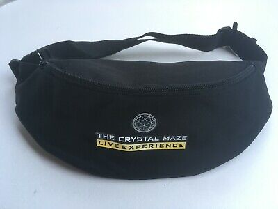 NEW Crystal Maze Live Experience bumbag