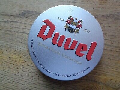 Duvel classic collection set onderleggers coasters not new