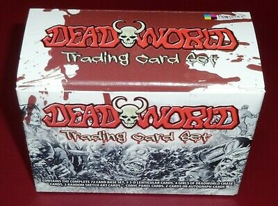 Breygent Deadworld Trading Cards - Base Set of 72 Mint Trading Cards - Boxed