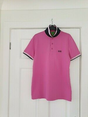 Bnwt Mens Hugo Boss Paddy Polo Shirt / T - Shirt Top Size Small Regular Fit